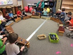 Off the Cart, Back in a Classroom