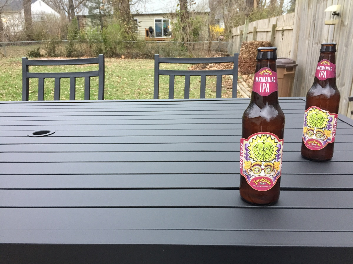 New Patio Additions