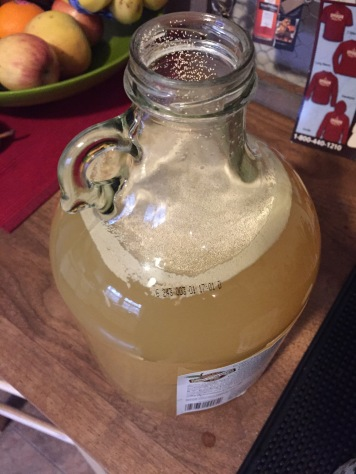 Addition of the yeast