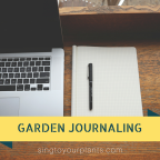 Garden Journaling